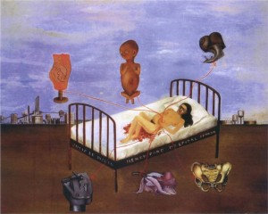 Henry Ford Hospital, Frida Kahlo 1932