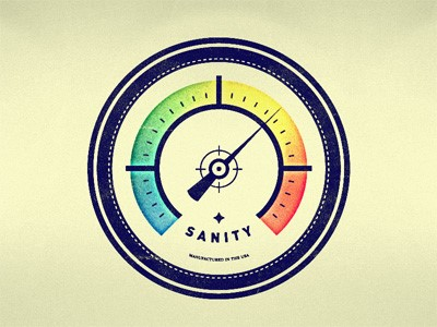 sanity-meter