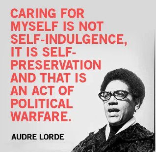 Audre Lorde preservation