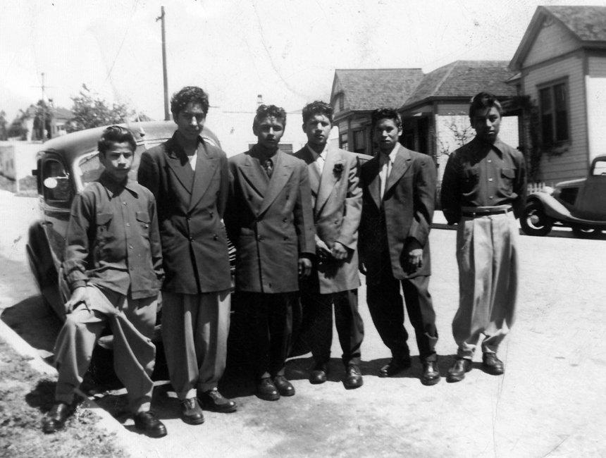 נערי פאצ'וקו בחליפות זוט סוט בלוס אנג'לס, שנות הארבעים
